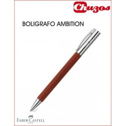 BOLIGRAFO FABER CASTELL AMBITION MADERA PERAL 148131