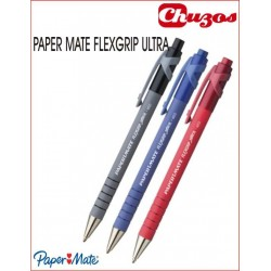 BOLIGRAFO PAPER MATE FLEXGRIP RETRACTIL
