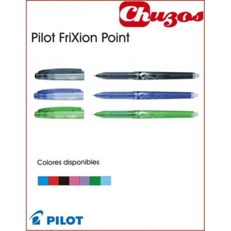 BOLIGRAFO BORRABLE PILOT FRIXION POINT FINO 05