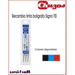RECAMBIO BOLIGRAFO BORRABLE UNIBALL SIGNO TSI 3 UDS