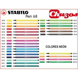 ROTULADOR STABILO PEN 68 PUNTA MEDIA 1MM
