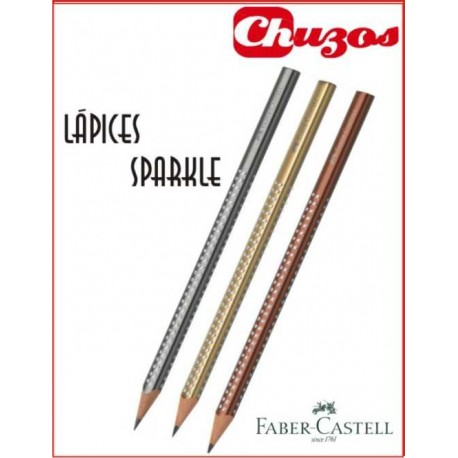 LAPIZ ESCRITURA FABER CASTELL SPARKLE BARNIZ 118321