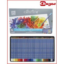 LAPICES COLORES CRETACOLOR ACUARELABLES 36 UDS