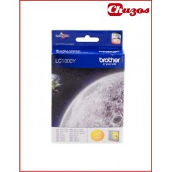 CARTUCHO TINTA BROTHER LC1000 YELLOW ORIGINAL