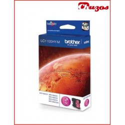 CARTUCHO TINTA BROTHER LC1100HY MAGENTA ORIGINAL ALTA CAPACIDAD
