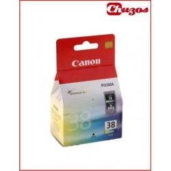 CARTUCHO TINTA CANON CL38 TRICOLOR ORIGINAL 2146B001