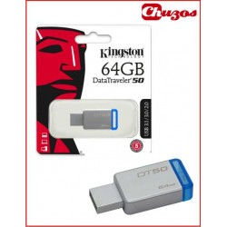 USB 64GB DATATRAVELER 50 KINGSTON 3.0