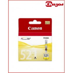 CARTUCHO TINTA CANON CLI 521 YELLOW ORIGINAL