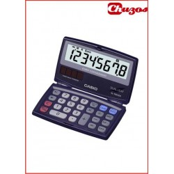 CALCULADORA CASIO SL-100VER DE BOLSILLO 8 DIGITOS 55 X 90MM