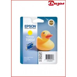 CARTUCHO TINTA EPSON T0554 YELLOW ORIGINAL