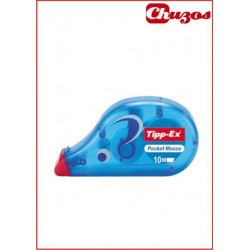 CORRECTOR CINTA TIPP-EX POCKET MOUSE 10ML X 4.2MM