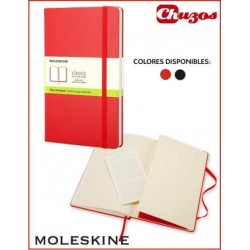 CUADERNO MOLESKINE CLASSIC COSIDO HOJAS LISAS 9 X 14 CM TAPA DURA
