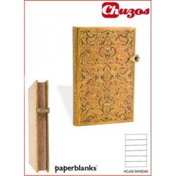 CUADERNO PAPERBLANKS GOLD INLAY PB2535-1 MINI