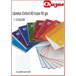 CUADERNO OXFORD CUADRICULA A4 ESPIRAL 80H EUROPEAN BOOK 1