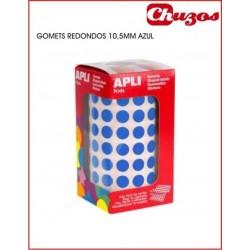 ROLLO GOMETS REDONDOS APLI 04852 10,5 MM AZUL