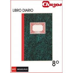 LIBRO DIARIO CARTONE 8º NATURAL MIQUELRIUS