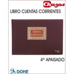 LIBRO CUENTAS CORRIENTES 4º APAISADO DOHE
