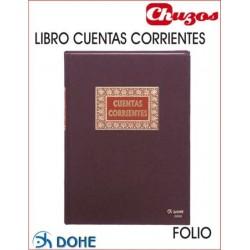 LIBRO CUENTAS CORRIENTES FOLIO NATURAL DOHE