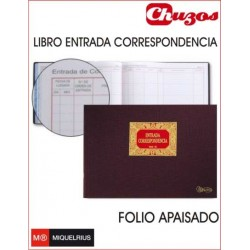 LIBRO ENTRADA CORRESPONDENCIA MOD 42 MIQUELRIUS