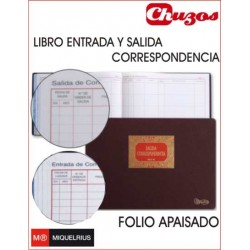 LIBRO ENTRADA SALIDA CORRESPONDENCIA MOD 99 MIQUELRIUS