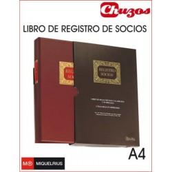 LIBRO REGISTRO DE SOCIOS HOJAS SUELTAS A4 MIQUELRIUS