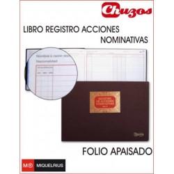LIBRO REGISTRO DE ACCIONES NOMINATIVAS MOD 75 MIQUELRIUS