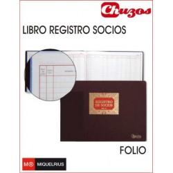 LIBRO REGISTRO DE SOCIOS NO SRL MOD 13 MIQUELRIUS