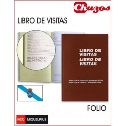 LIBRO VISITAS MOD 98G MIQUELRIUS GALLEGO