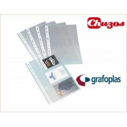 FUNDAS PORTA TARJETAS 4º GRAFOPLAS 03802000 BOLSA 10 FUNDAS