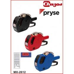 ETIQUETADORA DE PRECIOS 1 LINEA 2612 6 DIGITOS PRYSE MX2612