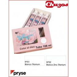 .PINTURA AL OLEO TUBO 108 ML PRYSE