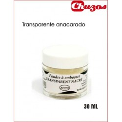 POLVOS RELIEVE EMBOSSING TRANSPARENTE ANACARADO 30 ML ALADINE