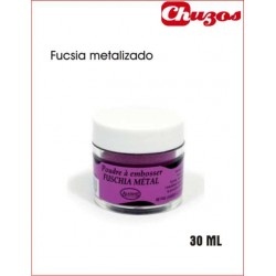 POLVOS RELIEVE EMBOSSING FUCSIA METAL 30 ML ALADINE