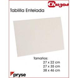 LIENZO TABLILLA ENTELADA ALGODON PRYSE
