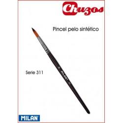 PINCEL PELO SINTETICO FINO MILAN 311