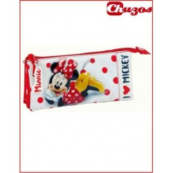 PORTATODO TRIPLE MINNIE MOUSE 811748744