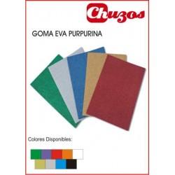 GOMA EVA PURPURINA 40 X 60 CM
