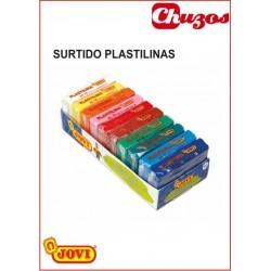 PLASTILINA PEQUEÑA SURTIDO 10 UDS JOVI
