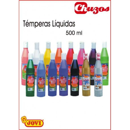 .TEMPERA LIQUIDA 500 ML JOVI