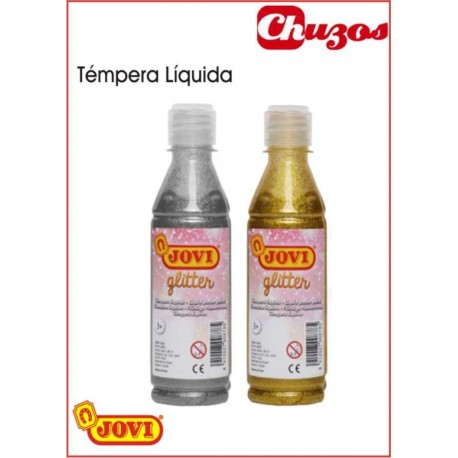 .TEMPERA LIQUIDA PURPURINA 250CC JOVI