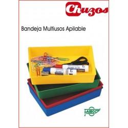 BANDEJA MULTIUSO APILABLE 21,5 X 13,5 CM FAIBO