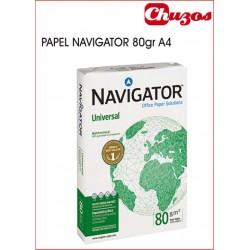 PAPEL A4 NAVIGATOR 80 GRS 500 HJS BLANCO
