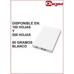 PAPEL A3 COPYSTAR 80 GRS BLANCO 100 o 500 HJS
