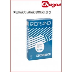 PAPEL A4 FABRIANO EMINENCE 80 GRS 500 HJS BLANCO