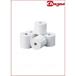 ROLLO PAPEL TERMICO 57 X 65 10 UDS