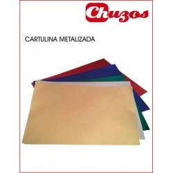 CARTULINA METALIZADA 50 x 65 CM 225 GRS