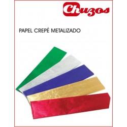 PAPEL CREPE METALIZADO 0.50 X 2.5 M SADIPAL