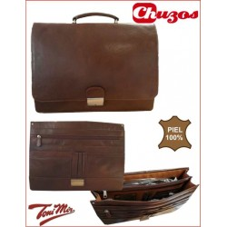CARTERA PIEL ASA MARRON TM2100 TONI MIR