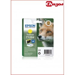 CARTUCHO TINTA EPSON T1284 YELLOW ORIGINAL