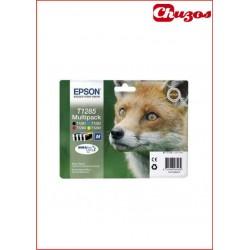 CARTUCHO TINTA EPSON T1285 4 COLORES ORIGINAL